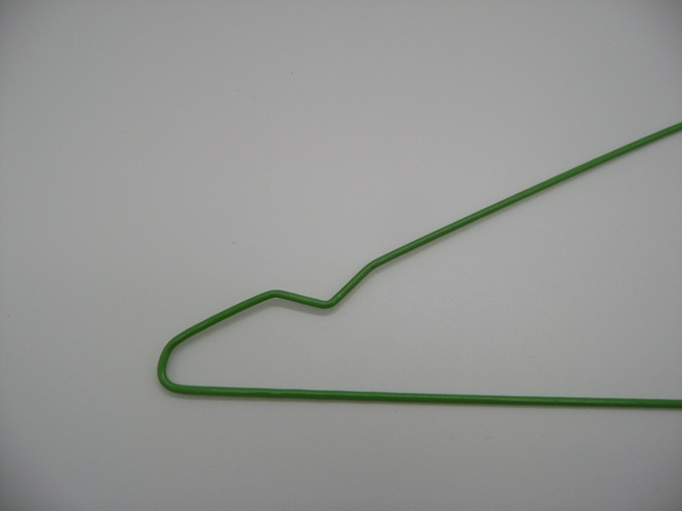 Dry Cleaning Wire Hangers With Plastic Powder Coated