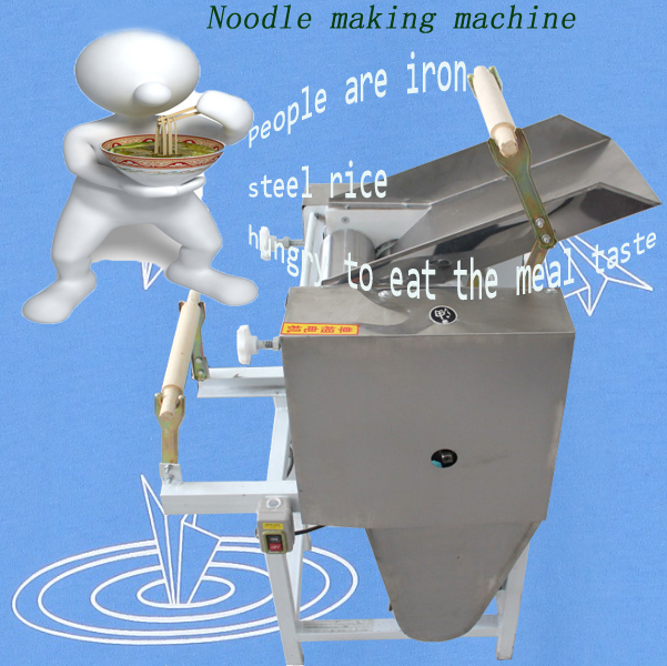 Household hand small noodle making machine/noodle machine for home
