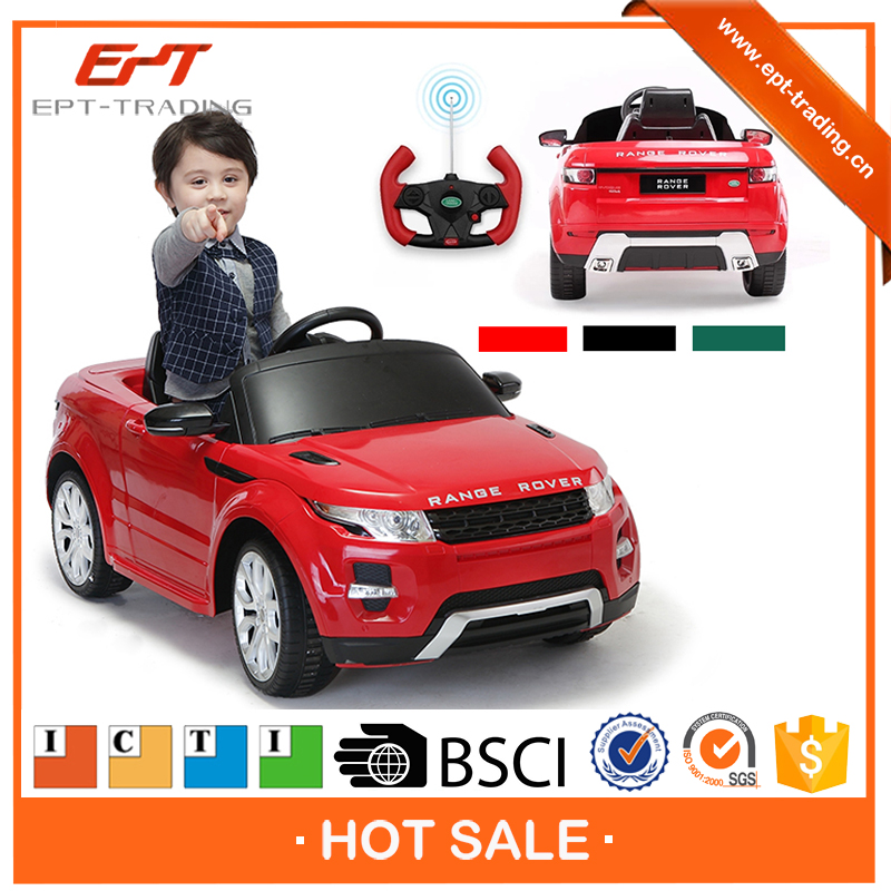 Wholesale top quality licensed kids ride on car for sale