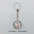 China cute promotion gift unicorn design custom keychain