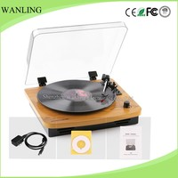 High quality vinyl record with PC recording,turntable vinyl record gramophone player