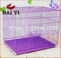 BAIYI Wholesale Folding Metal Mesh Dog Breeding Cage For Dogs