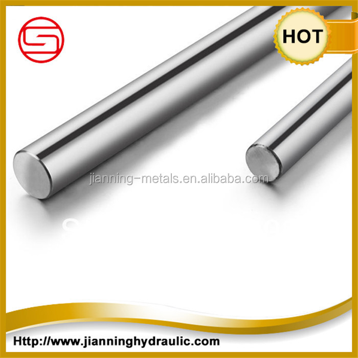 Quenched and tempered hard chrome plated steel bar / Chrome Plated Round piston rod