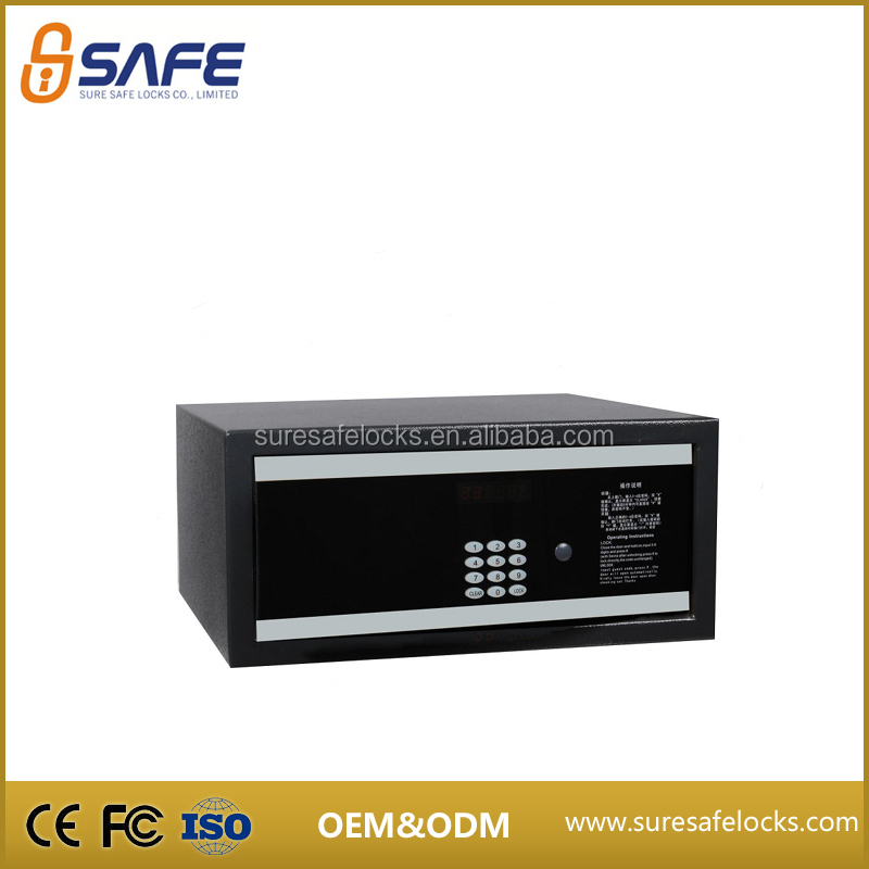 Top secuirty hotel room super intelligent electronic jewellery safes
