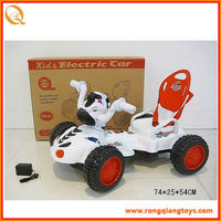 New!!! white cartoon kids battery ride on cars with light and music BC2044665-27