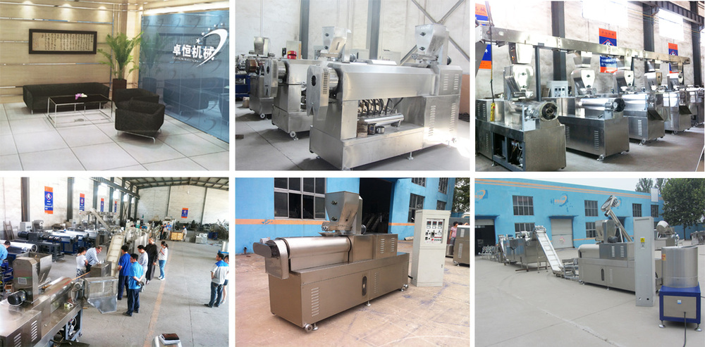 multifunction Stainless Steel chewing/jam center pet food processing line