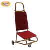 Hot Sale Metal Trolley for Hotel/Wedding Banquet Chair Easy Removal Chair Trolley foldable Chair Hand Trolley for Transport Use