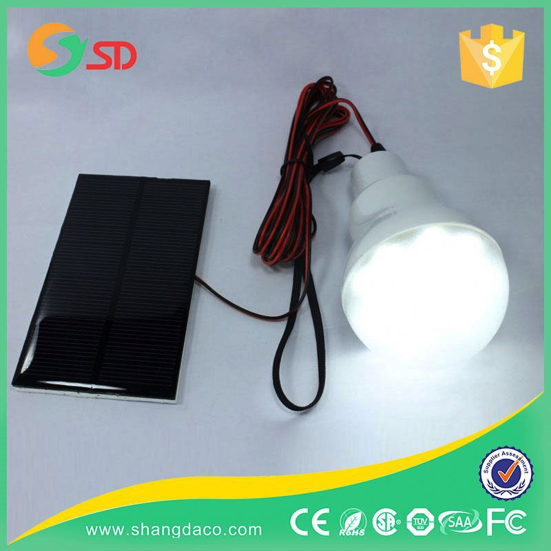 Hot Selling Portable Solar Power LED Bulb Lamp Solar Energy Light Bulbs