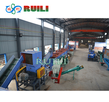 Plastic Waste Garbage PET Soft Material Recycling Washing Machinery
