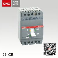 YCM2 3 phase moulded case circuit breaker.National Project Supplier.China Top 500 enterprise.
