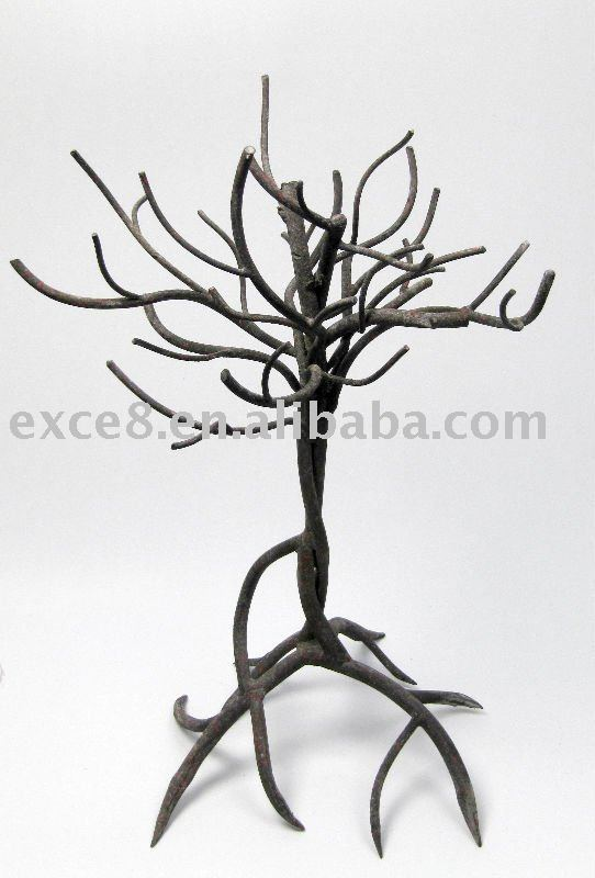 Small Metal Decoration Tree
