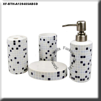 4 pcs ceramic bathroom appliances