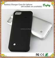 Top Quality External Battery Pack for iPhone 5s Portable Backup Power Charger Case for iphone 5C