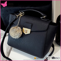 2016 new model lady handbag shoulder bag and designer lady handbag
