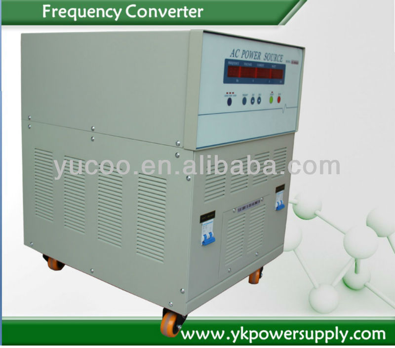 for military or aircraft use frequency converter with vector control output