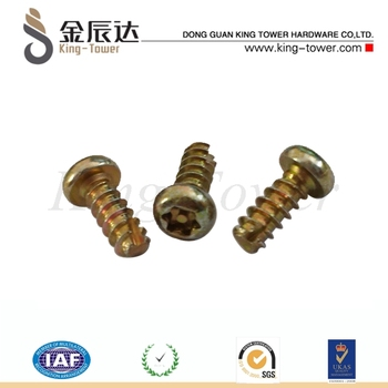 Stainless steel custom sheet metal self tapping screw