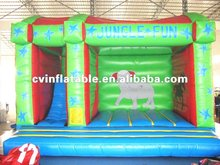 2012 inflatable animal bounce and slide combo