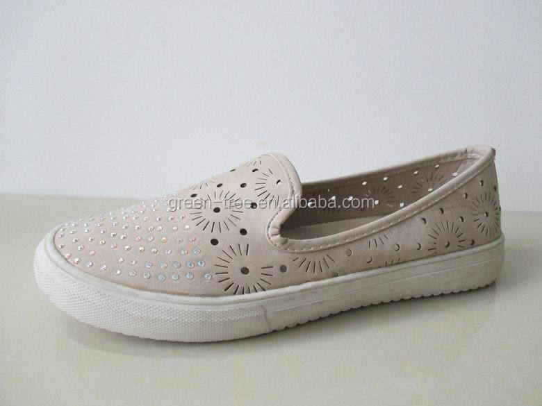 2015 flat shoes factory china