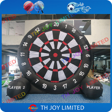 5m/16.5ft giant inflatable dart game/inflatable soccer dart board,inflatable foot darts for sale