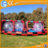 Giant inflatable go kart track inflatable zorb ball track, inflatable race track