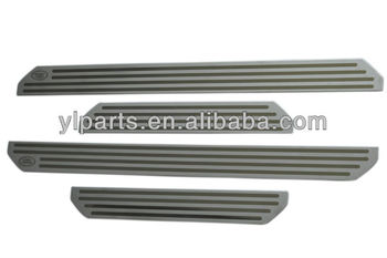Land Rover Stainless Steel Door Sill , car door sill plate , 4 pcs EBN500041 NEW ---Aftermarket Parts