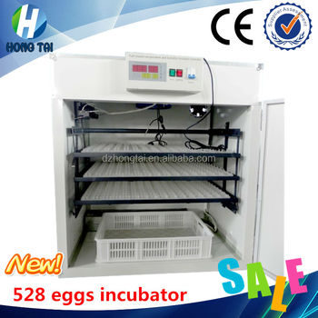 incubator CE approved 528 eggs production incubator equipment