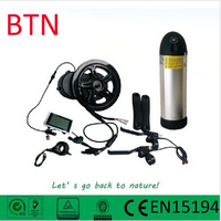 electric bike motor mid drive 36V/250W-750W 8FUN center motor BBS-01 with 36V10.4 ah samsung battery