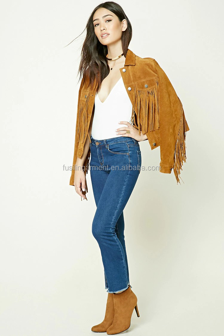 Frayed Ankle Jeans jeans kolkata flared trousers