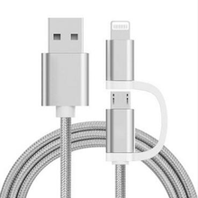 Double Micro Usb Data Cable High Speed Charging Cable