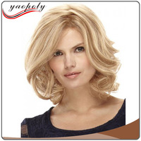 alibaba express china best selling products 613 color fiber short wig with hair dome