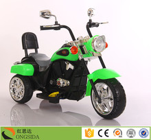 New model design rechargeable baby electric 3 wheel motorcycle