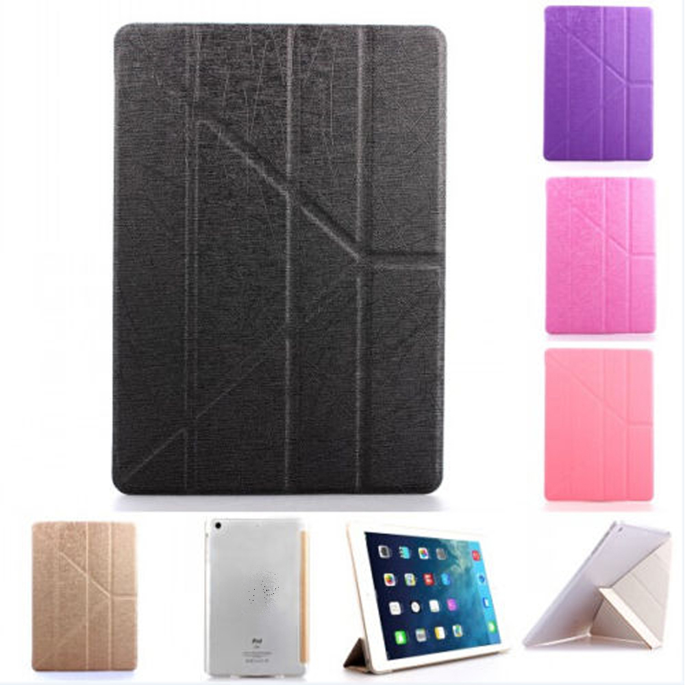 Super Slim Magnetic Smart Cover Leather Case For iPad Air 2/ for iPad Air Case