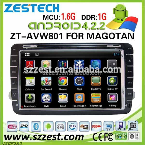 Hot selling 8 inch special pure android 4.2.2 car dvd player for VW golf 5