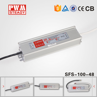 best selling 30W 60W 100W 150W 200W 250W ip67 48v dc power supply of led driver oem power supply