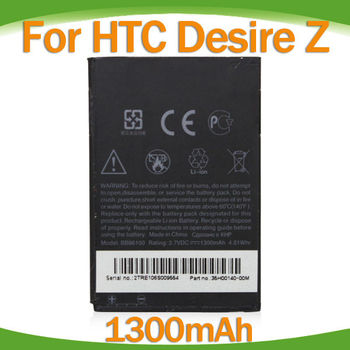 for HTC OEM BB96100 battery for HTC Desire Z A7272 3.7V 1300mah
