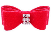 Fashion Red Pet Hair Clips for dog