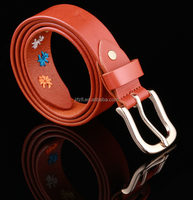 Customized Wholesale Genuine Leather Belt And