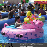 Pvc inflatable bumper boat for kids and adults small fishing boats