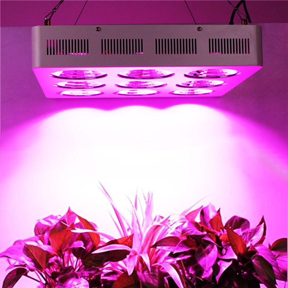 Hydroponic Full Spectrum Eshine Systems Apollo 6 COB Spider 300W LED Grow Lights For Plants