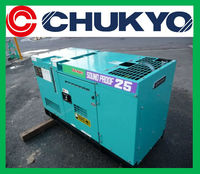 Used Denyo Generator 25 kVA DCA - 25SPI - C <SOLD OUT> / 20 kw , Sound Proof