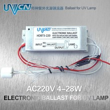 HDBT5-220 Electronic ballast for uv lamp AC 220V 4W-28W