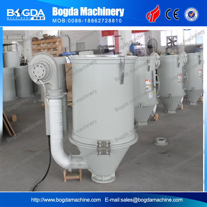 plastic hot air hopper dryer with stainless steel double insulation hopper