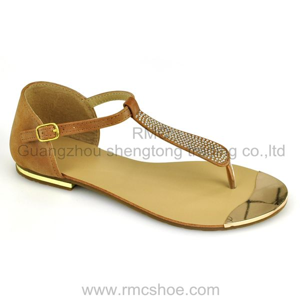 RMC ladies fashion flat comfort sandals