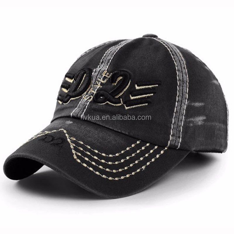 Wholesale Vintage Men's Sport Baseball Caps Polo Hiking Hats