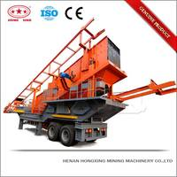 Easy Move Money Saving Small Mobile Primary Jaw Crusher