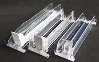 shelf pusher with springs shelf pusher tray shelf managment system