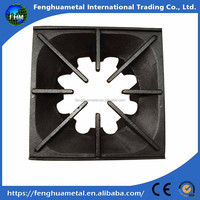 High Quality Customized Enamel Cast Iron Gas Stove Burner Grates