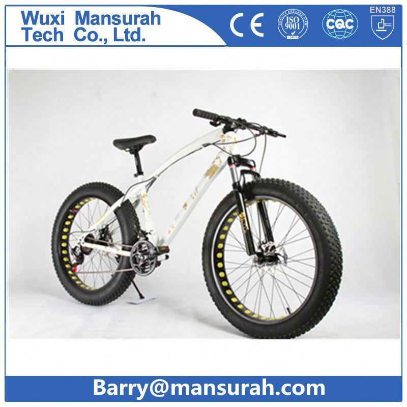 Aluminum 26*4.0 big tire bicycle/cheap fat beach cruiser bike