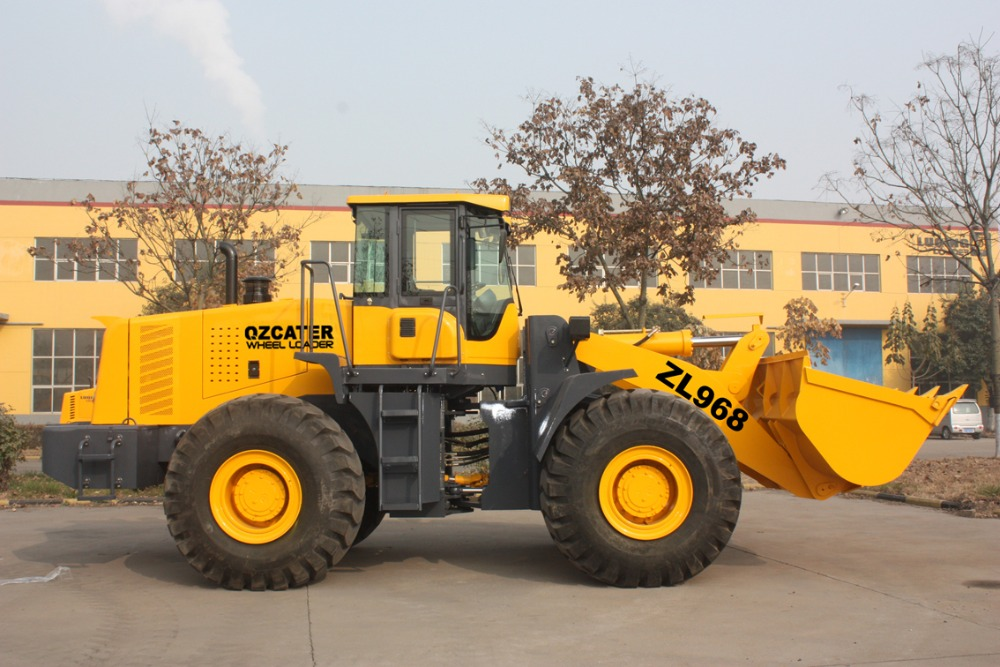 good quality, new cat engine zl60 high dump wheel loader