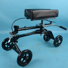 Blue Knee Scooter With Basket | Portable Folding Walker Design For Adults | Fully Adjustable To Accomodate Surgery Or Injury
